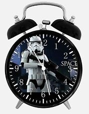 "Star Wars Alarm Desk Clock 3.75"" Home or Office Decor E349 Nice For Gift"
