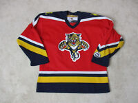 Kobo Florida Panthers Jersey Youth Large Extra Large NHL Hockey SEWN Red Kids *
