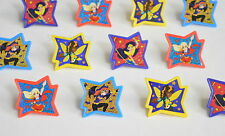 12 DC Super Hero Girls Cup Cake Rings Topper Party Goody Bag Filler Favor Supply