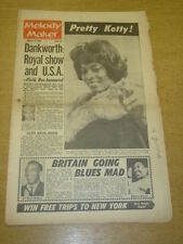 MELODY MAKER 1962 OCTOBER 13 DANKWORTH KETTY LESTER FRANK IFIELD MODERN JAZZ +
