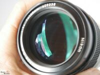Nikon Nikkor-Q.C Auto 1:2,8 f=135mm Tele-Objektiv (eher neuwertig)