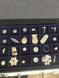 Various Metal Detecting Finds From Roman To Victorian All Found Whilst Detecting