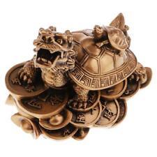 résine dragon tortue tortue statue figurine richesse ornement pour le