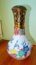 rare decor kakiemon  LAMPE BERGER  signé berger Paris   de Bocquillon??