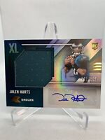 2020 Panini XR XL JALEN HURTS RPA Rookie Jersey Auto #081/149 Eagles