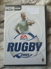 Rugby 2001 New Sealed. PC Cd-rom. NEW Sealed