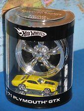 HOT WHEELS 1971 PLYMOUTH GTX 71 AMERICAN RACING EQUIPPED TORQ-THRUST *BRAND NEW*