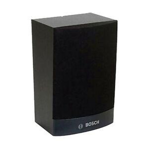 NEW BOSCH FLAT CABINET LOUDSPEAKER 6W, BLACK LB1-UW06-FD1