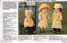▬► Page Poupée Michel et Françoise  Modes et Travaux 03/1980