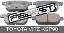 Pad Kit, Disc Brake, Rear For Toyota Vitz Ksp90 (2005-2010)