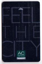CARTE / CARD  HOTEL CLE  KEY .. ESPAGNE A.C MARRIOTT CITY VINGCARD  MAGNETIQUE
