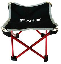 Seaflo Ultralight Compact Folding Stool with Case for Camping, Hiking, Fishing