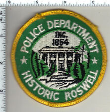 Roswell Police (Georgia) Uniform Take-Off Shoulder Patch from 1990