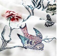 New IKEA JATTELILJA Full/Dbl/Queen embroidery Duvet Cover + pillow case White
