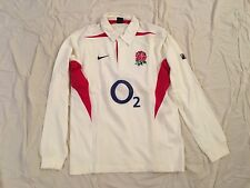 MAILLOT RUGBY ENGLAND ANGLETERRE ROSE LIONS SHIRT JERSEY TRIKOT ANCIEN VINTAGE