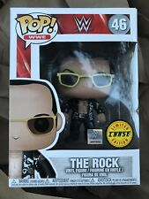 Funko Pop! The Rock Dwayne Johnson Wwe Chase Limited #46 New