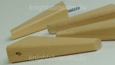 4x WOODEN FEET WOODEN FURNITURE LEGS FOR SOFAS, CHAIRS SETTEES & FOOTSTOOLS M8