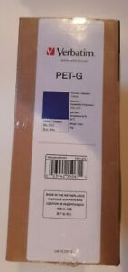 Verbatim Pet-g Blue 2.85 Filament 3d Printer ral 5002 1kg