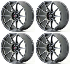 "XXR 527 18"" x 8.75J ET20 5x100 5x114 CHARCOAL GREY WIDE RIMS ALLOYS WHEELS Z1841"
