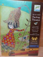 Djeco Art by Numbers Design by Elodie Nouhen - Rotuladores Pinceles Felt Brushes