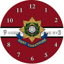 East Yorkshire Horloge murale Régiment