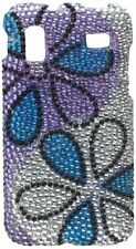 Bling Brilliance Diamond Case for Samsung Captivate Glide i927 Blue/Purple