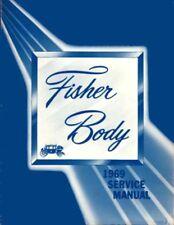 1969 General Motors Fisher Body Shop Service Repair Manual