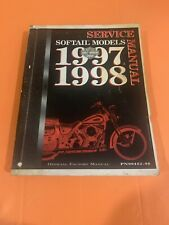 New ListingHarley Davidson 1997-1998 Softail Heritage Springer Service Manual 99482-98