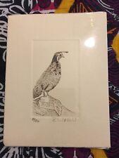 Pen and ink drawings, set of 9, by artist Rick Urdahl, 50 of 50