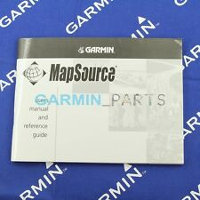 Used user's manual and reference guide for Garmin MapSource 190-00168-30 rev.B