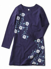NWT Tea Collection SIZE 6 Floral Poppy Dress Twlight Color