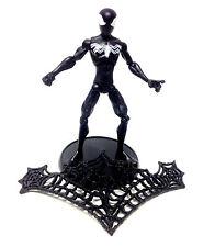 "Marvel Comics Universe SPIDERMAN Cartoon BLACK VENOM COSTUME 5"" figure, unboxed"