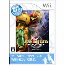 Used Wii Metroid Prime Wii de Asobu Japan Import