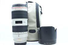 Canon 70-200MM F2.8 L IS II USM Lens (LT 41)