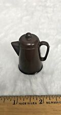 Marx Best of the West Johnny West Dark Brown Coffee Pot Vintage Rare Retired