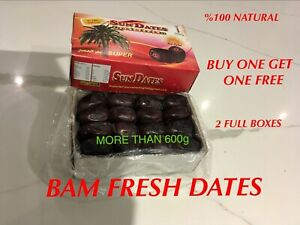 FRESH SOFT SUN DATES MAZAFATI, MORE THAN 600g SPECIAL OFFER BUY 1 GET 1 FREE