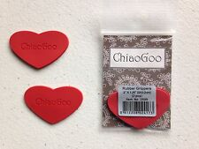 New ChiaoGoo Rubber Grippers for Interchangeable Knitting Needles MPN 2599