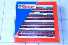 ROCO 44087 COFFRET 4 VOITURES SNCF LIVREE CAPITOLE SET NEUF.