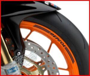 12 x REPSOL HONDA Wheel Rim Decals Stickers - cbr 1000 rr fireblade 600 marquez