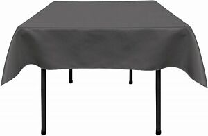 New Creations Fabric & Foam Inc, Bridal Satin  Table Overlay / Tablecloth