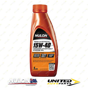 NULON Semi Synthetic 15W-40 Engine Oil 1L for RENAULT 4CV 750 1955-1964