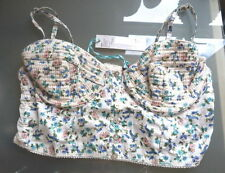 River Island Women's Floral Sleeveless Vest Top, Strappy, Cami Tops & Shirts