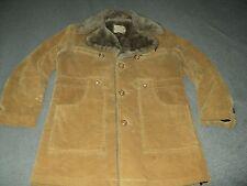 Vintage Mens Rich Sher The Vagabond Corduroy Jacket Coat Size 40