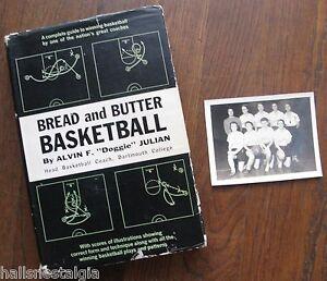 Yard Office Girl's Basketball Team Photo + 1960 Book (Bread & Butter Basketball)