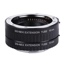 Auto Focus Macro Extension Tube DG-NEX 10mm+16mm for Sony NEX-5C NEX-C3 E-mount