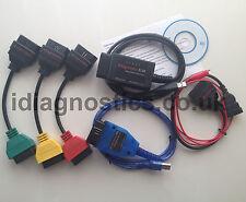 Cable de diagnóstico KKL VAG FIAT ALFA Olmo + OBD2 + 3-PIN + 3x adaptadores italiano Cars
