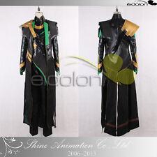 EE0302AA The Avengers Loki Cosplay Costume