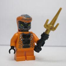 Snike Ninjago Orange Black Snake Tribe 9448 LEGO Minifigure Mini Figure
