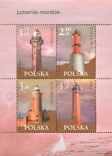 POLEN 2007  Klb Lighthouses(2007; Nr kat.:4167-4170)