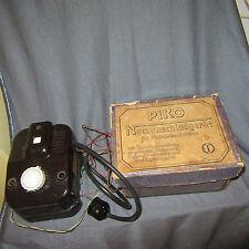153E Vintage Piko Me 002 G Transformateur Bakélite 110V O 1/43